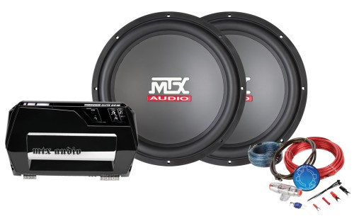 small resolution of bass package thunder 600w amplifier 15 subwoofer mtx audio serious about sound