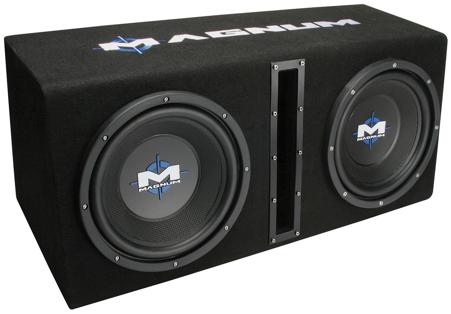 MB210SPPKG MTX Car Subwoofer Enclosure  MTX Audio
