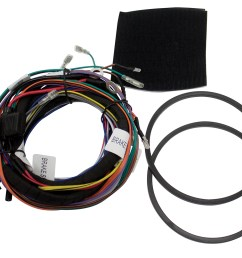 hdwh4 aftermarket 4 channel harley davidson wiring harness for use harley davidson wiring harness [ 1278 x 1000 Pixel ]