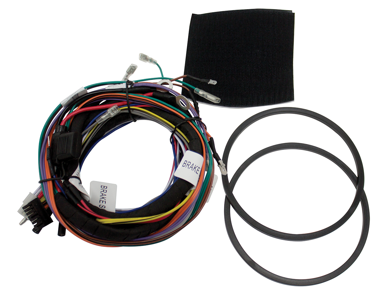 hight resolution of hdwh4 aftermarket 4 channel harley davidson wiring harness for use