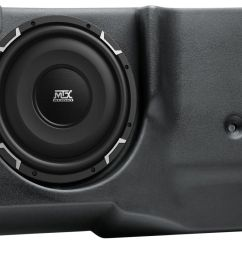 ford explorer sport trac 2001 2010 thunderform custom amplified subwoofer enclosure mtx audio serious about sound  [ 1600 x 856 Pixel ]