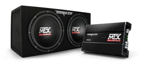 small resolution of tnp212d2 dual 12 subwoofer enclosure and amplifier party package mtx audio serious about sound