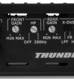 mtx audio thunder75 4 4 channel amplifier [ 1600 x 597 Pixel ]