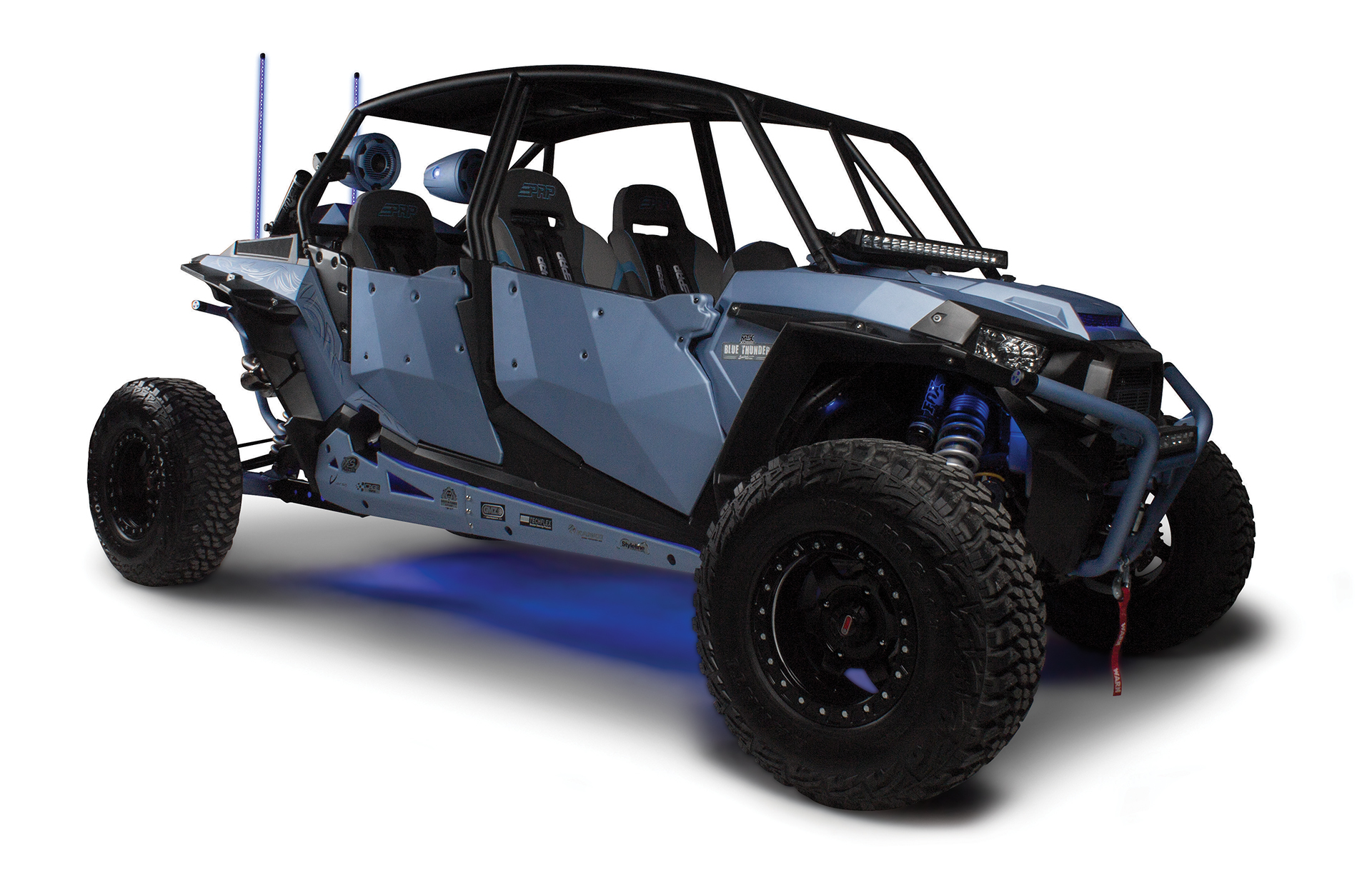 hight resolution of blue thunder polaris rzr