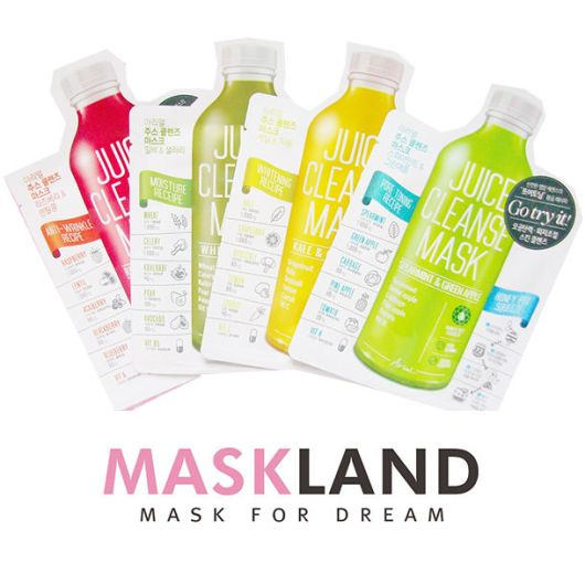 Maskland Juice Cleanse Mask