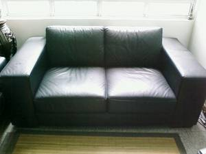casa italy sofa singapore right hand sectional full black leather 3 seaters for sale region free classifieds muamat