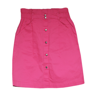 Girl's Buttoned Skirts