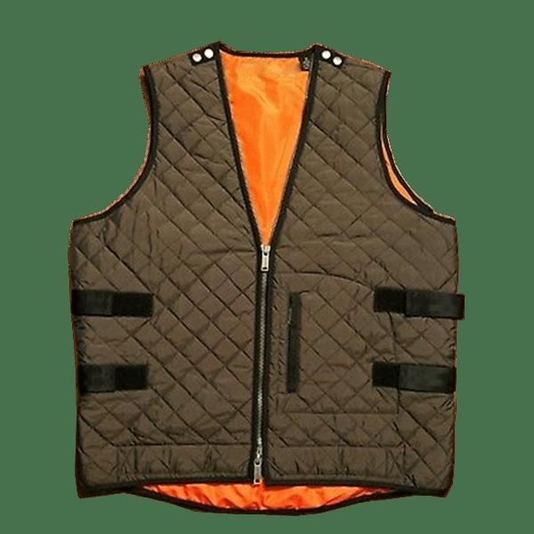 Men's Quilted Zip Vest