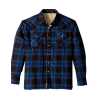 Men's Sherpa Lined Flannel Shirt Jacket
