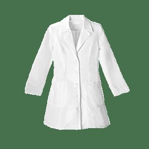 Women's Uniforms Lapel Collar Buttoned Scrub Top