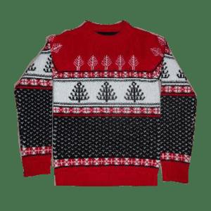 Women's Romantic Sasquatch Ugly Sweater