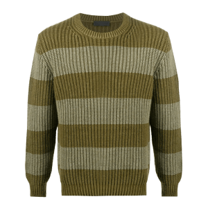 Men's Fisherman's Long-Sleeve Pullover Knit Sweater