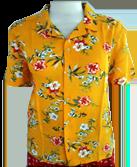 Women's SS Camp Collar Shirt