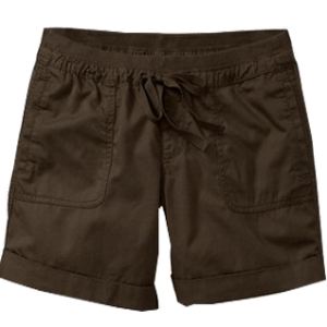 Women's Rib Waist Shorts