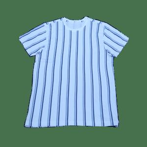 Men's Round-Neck Striped T-Shirt