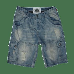 Men's Cargo Denim Shorts
