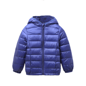 Boy's Hoodie Quilted Jacket