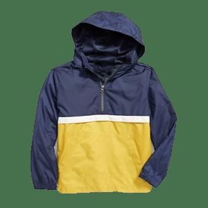 Boy's Double Layer Nylon Hoodie Jacket