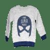 Boy's Long Sleeve Knitted Sweat Shirt