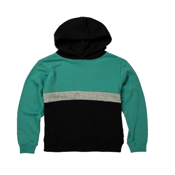 Boy's Color blocked Pullover Hoodie