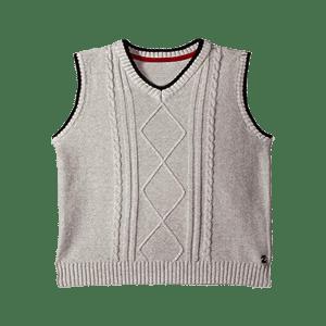 Boy's V-Neck Vest Sweater