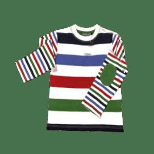 Boy's Long Sleeve Color Blocked T-Shirt