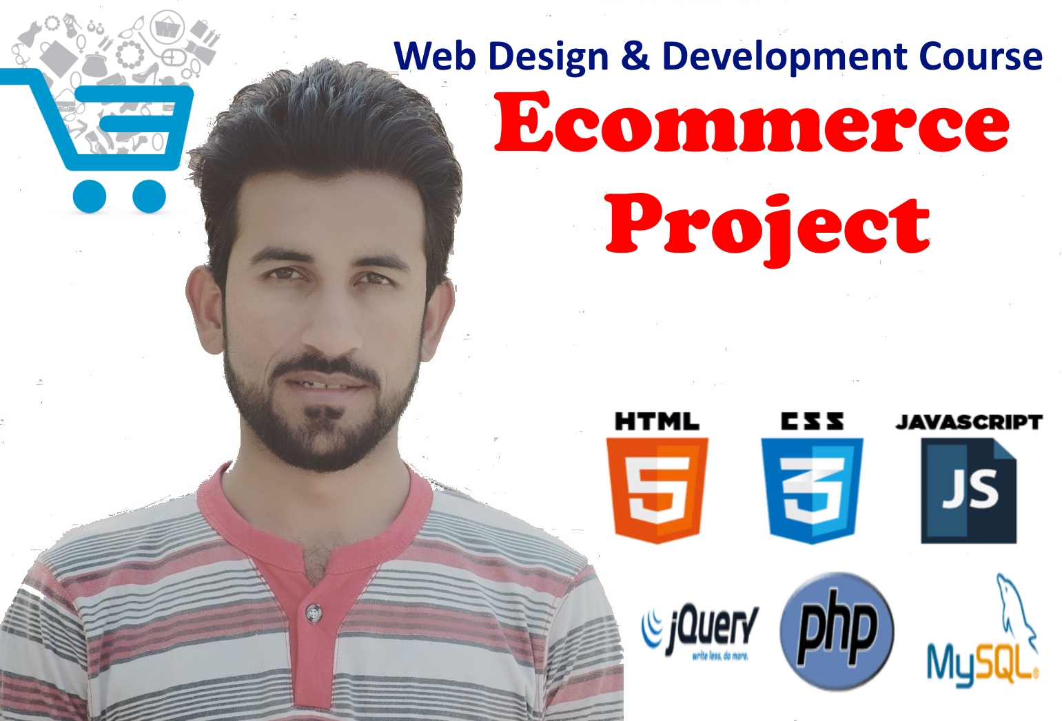 Core Web Design & Development – Ecommerce Project in PHP