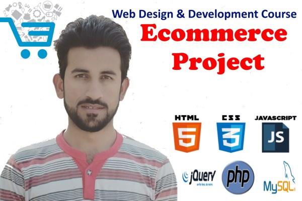 Core Web Design & Development – Ecommerce Project in PHP
