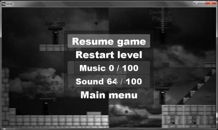 New greyed blurred filter for the pause menu