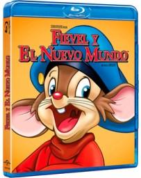 Fievel y el Nuevo Mundo Blu-ray
