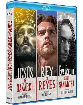 Pack Jesús de Nazaret + Rey de Reyes + El Evangelio según San Mateo Blu-ray
