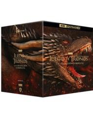 Juego de Tronos - Serie Completa Ultra HD Blu-ray