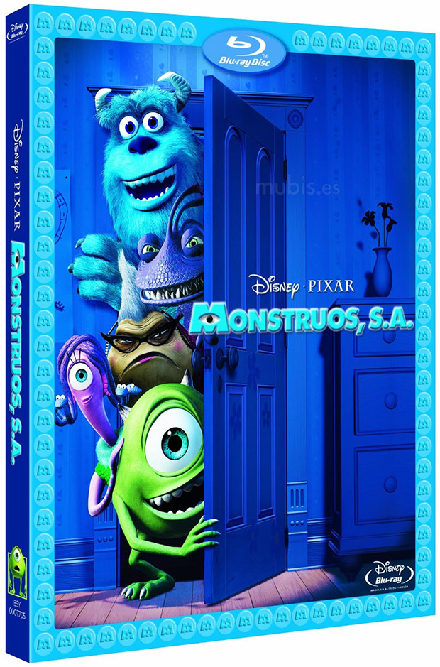 Monstruos SA Bluray