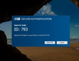 ESET Secure Authentication'a bakalım.