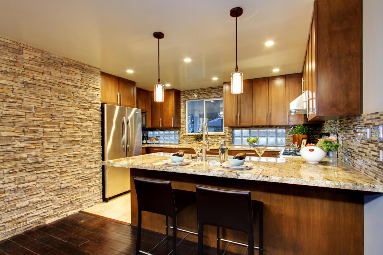 updated kitchens kitchen tile floor mid century modern much ado about