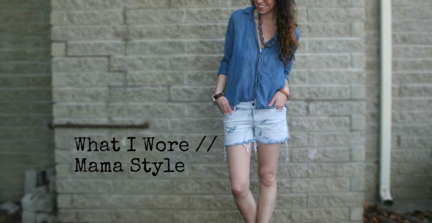 What I Wore // Mama Style ft Firmoo