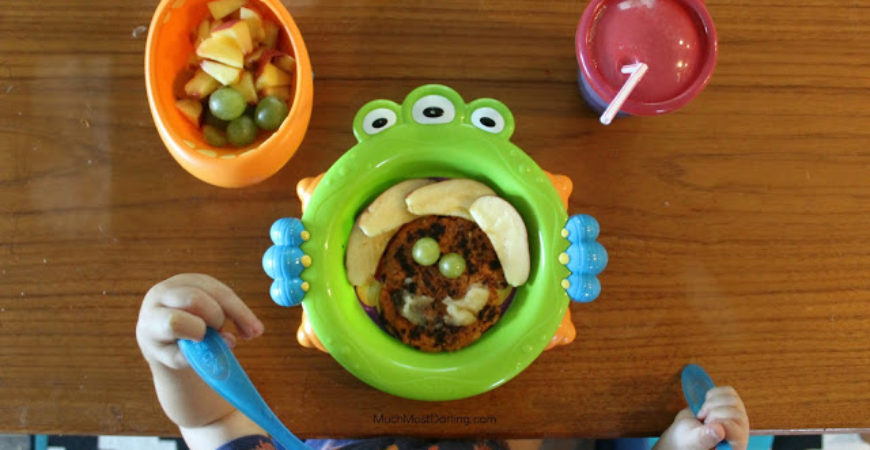 Toddler Breakfast Ideas: Sweet Potato Pancakes