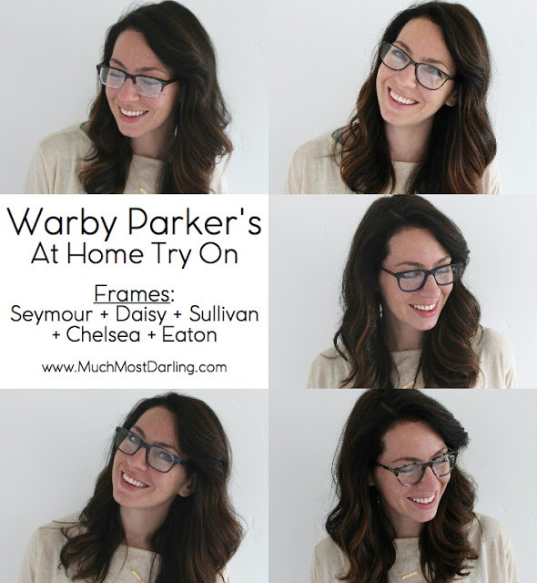 Warby Parker\'s At Home Try On Program #4 - Much.Most.Darling