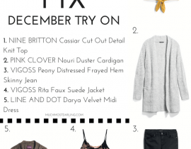 December Stitch Fix Review and Try On