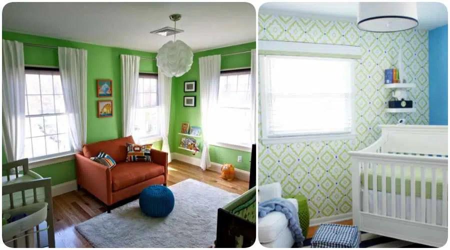 Cmo elegir los colores para la habitacin del beb