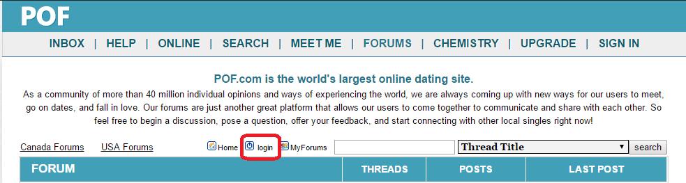 Pof forums canada