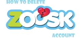 How to Delete Zoosk Account