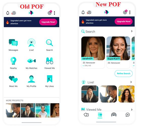 Pof app notifications