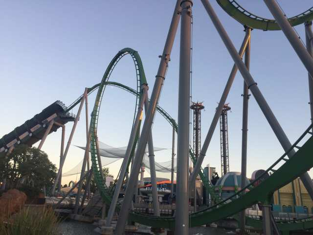 Hulk Rollercoaster, Universal Orlando