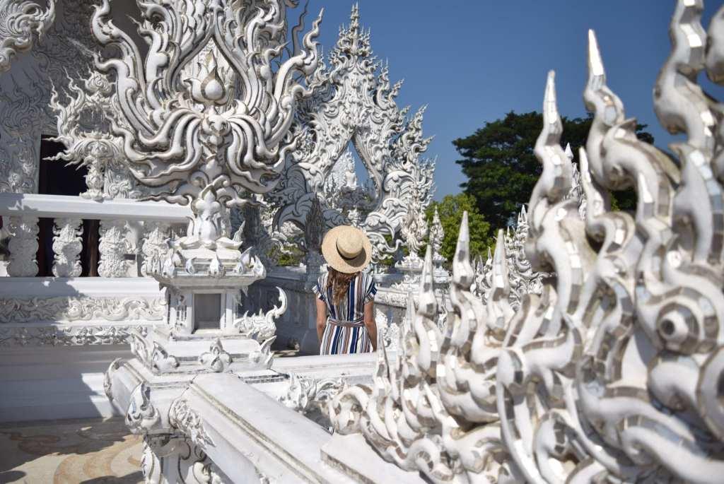 Christine - White Temple Thailand, PlanesTrainsAndChampagne.com