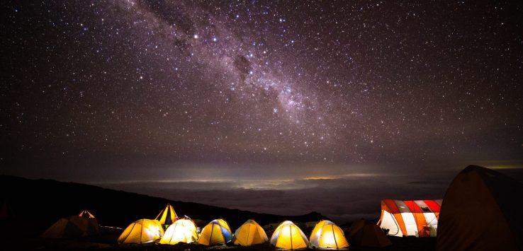Stars at Kilimanjaro
