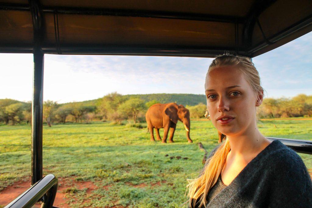 Martina - Safari, BlondeFootSteps.com