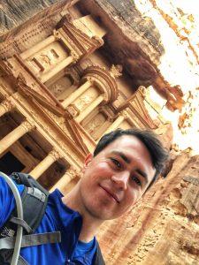 Visiting Petra: Me