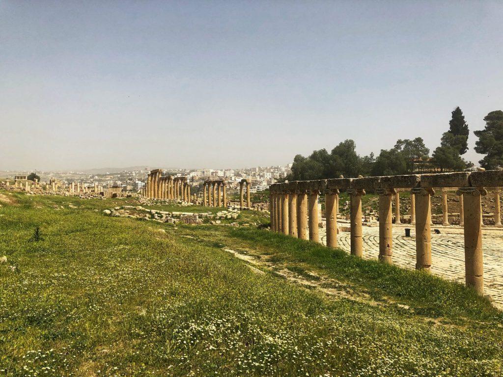 Romain Ruins of Jerash