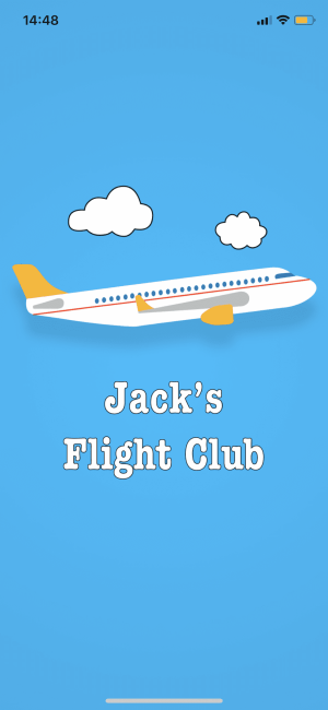 Jack's Flight Club Screen